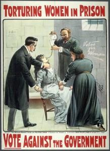 alimentazione forzata suffragetta