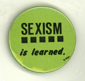 sexism is learned