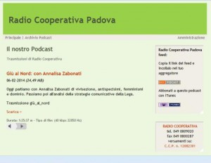 intervista a radio coop2014